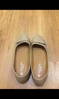 Korean Beige Flats