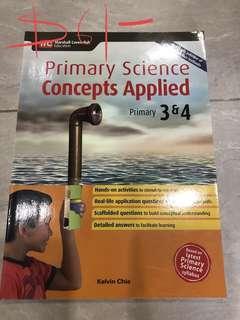 P3/P4 Sci guide book, each $6
