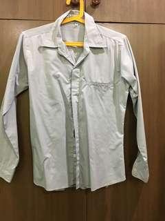 Long Sleeves Polo Gray