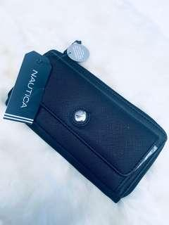 Nautica Wallet with RFID protection 100% authentic BNWT