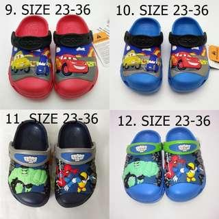 [NEW][ PO] PROMOTION SALES FOR MONTH OF OCT! KIDS CROCS SHOES CARTOON SHOES!! PM TO DEAL NOW