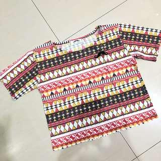 Tribal top fit M