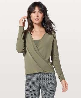Lululemon Full Freedom long-sleeve top