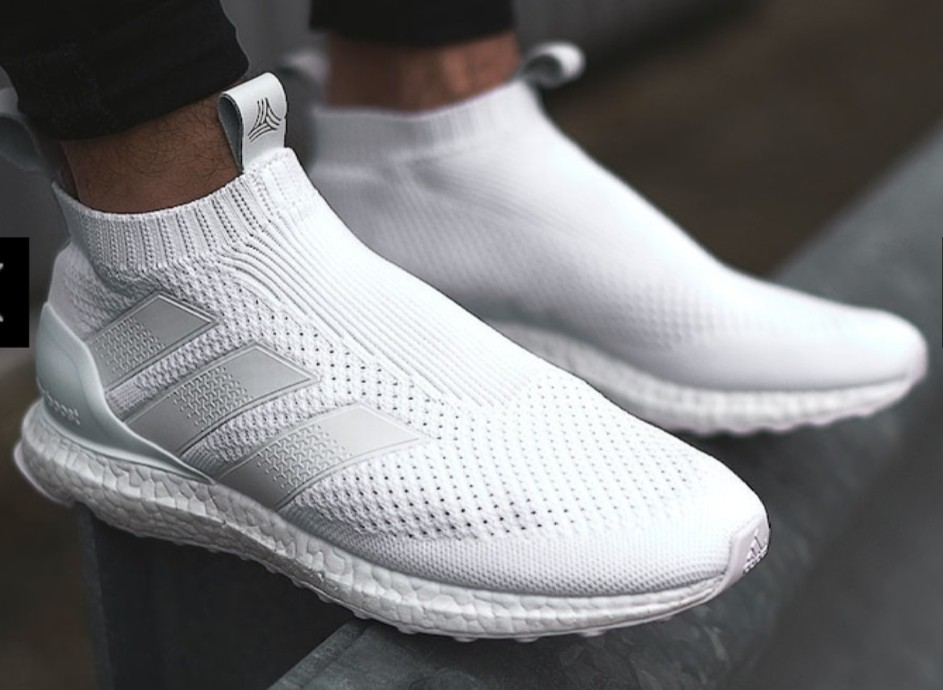 buy online 8adf8 35880 Adidas Ace 16+ Triple White Ultraboost Size 10.5uk