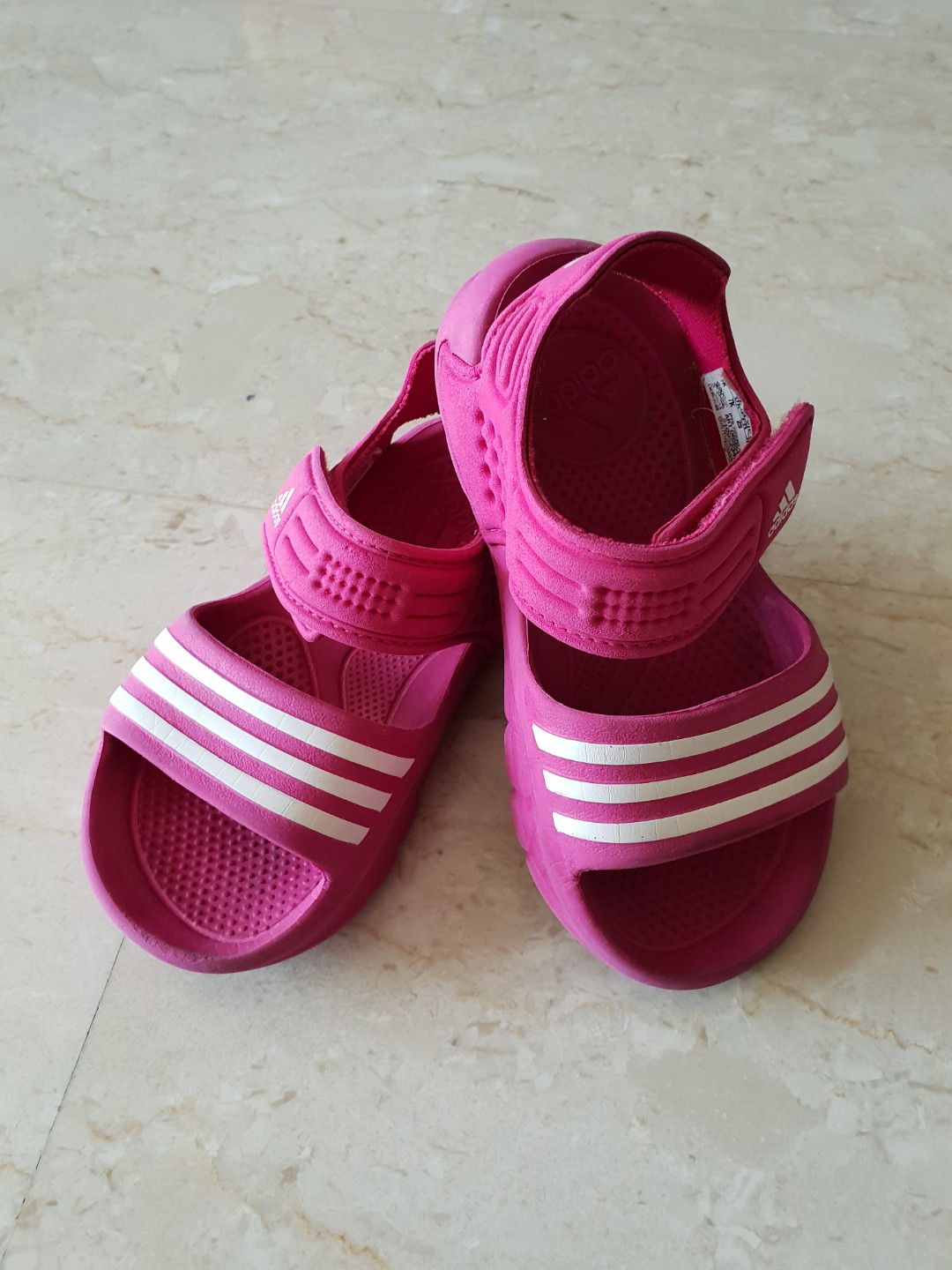 8ea3692c4f09 Adidas Sandals Pink Lightly used