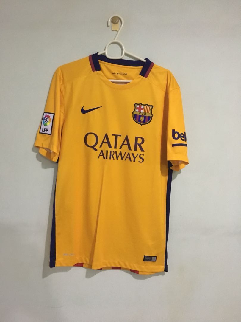 competitive price 7690f 9c721 Authentic FC Barcelona 2015-2016 away jersey