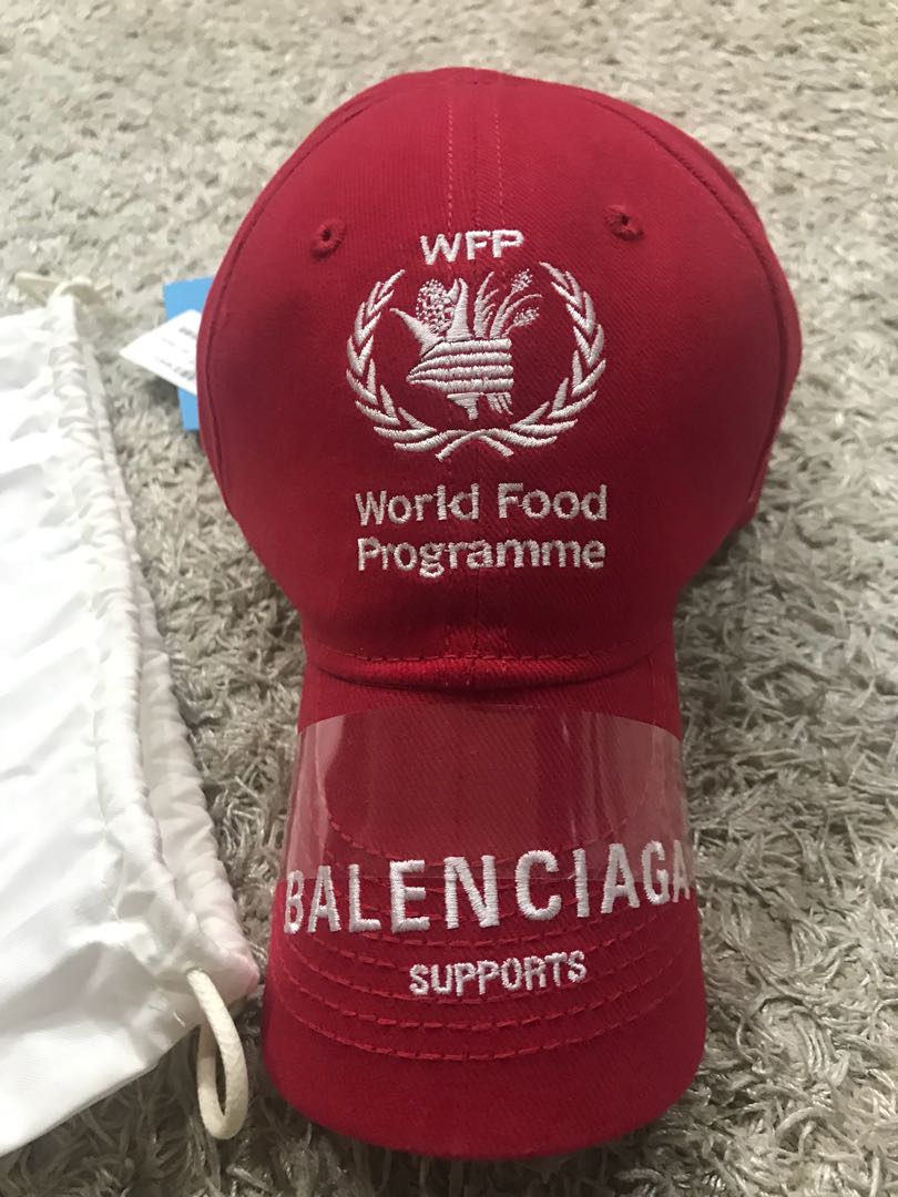 f1d26343344a BALENCIAGA World Food Programme cap