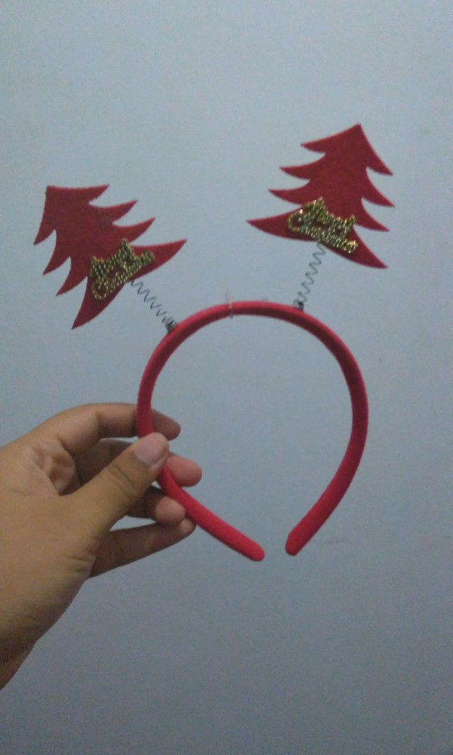 Bando Pohon Natal Women S Fashion Women S Accessories On Carousell