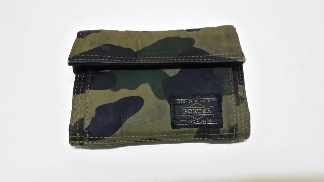 2b198224973 Porter x Bape 1st camo wallet