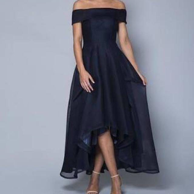 4df10c0f6c BRONTE OFF THE SHOULDER FORMAL DRESS on Carousell