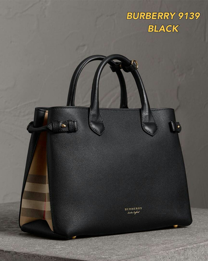 8be2531e64e Burberry Medium Banner Tote Bag