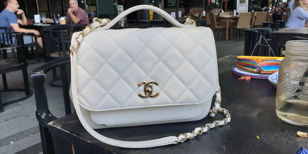4568e93b3f32 Chanel Business Affinity, Luxury, Bags & Wallets, Handbags on Carousell