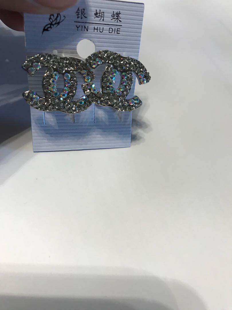 Chanel CC Earrings, necklace and more