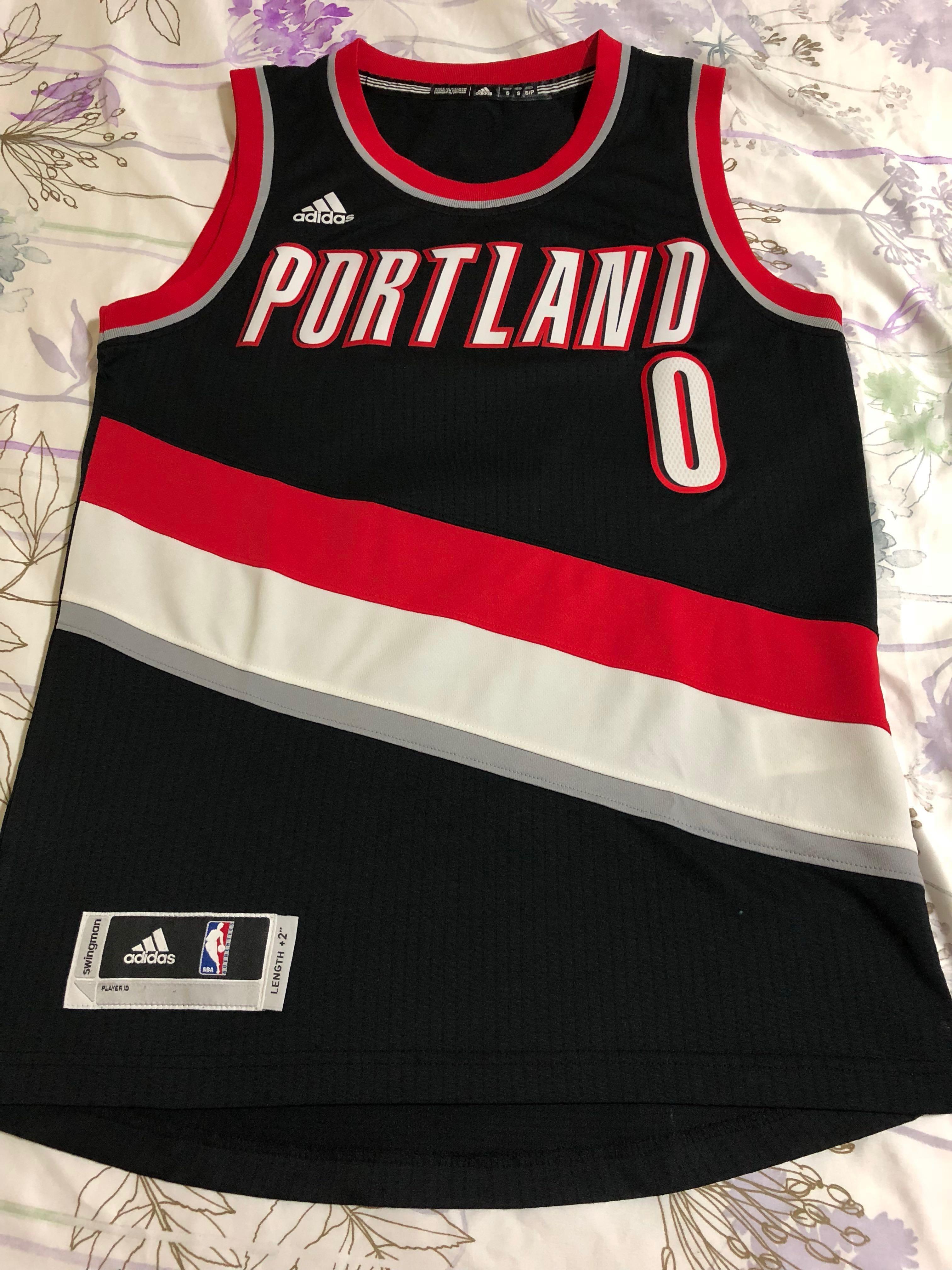 bf0e64741 Dame Lillard NBA Jersey, Sports, Sports Apparel on Carousell