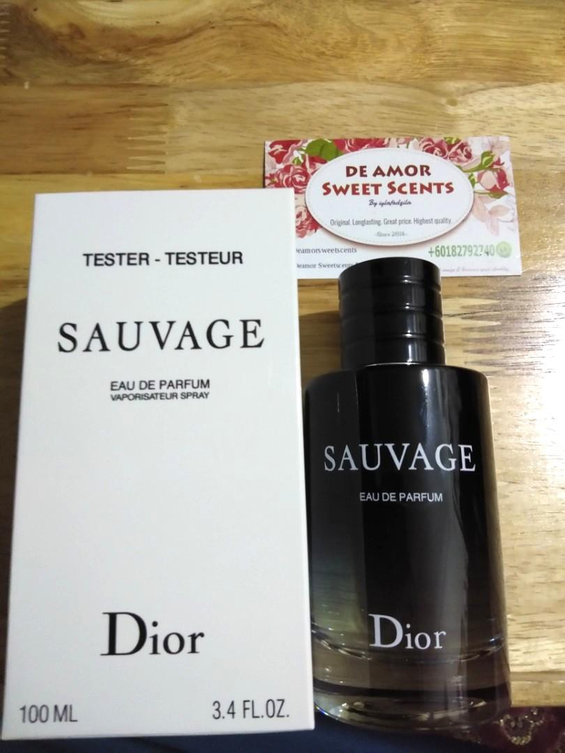 c452b4fc7 Dior Sauvage EDP Original Tester