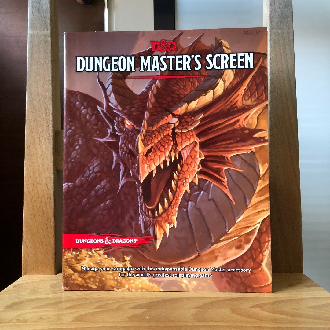 Dungeons & Dragons 5th Edition Dungeon Master's Screen, Toys