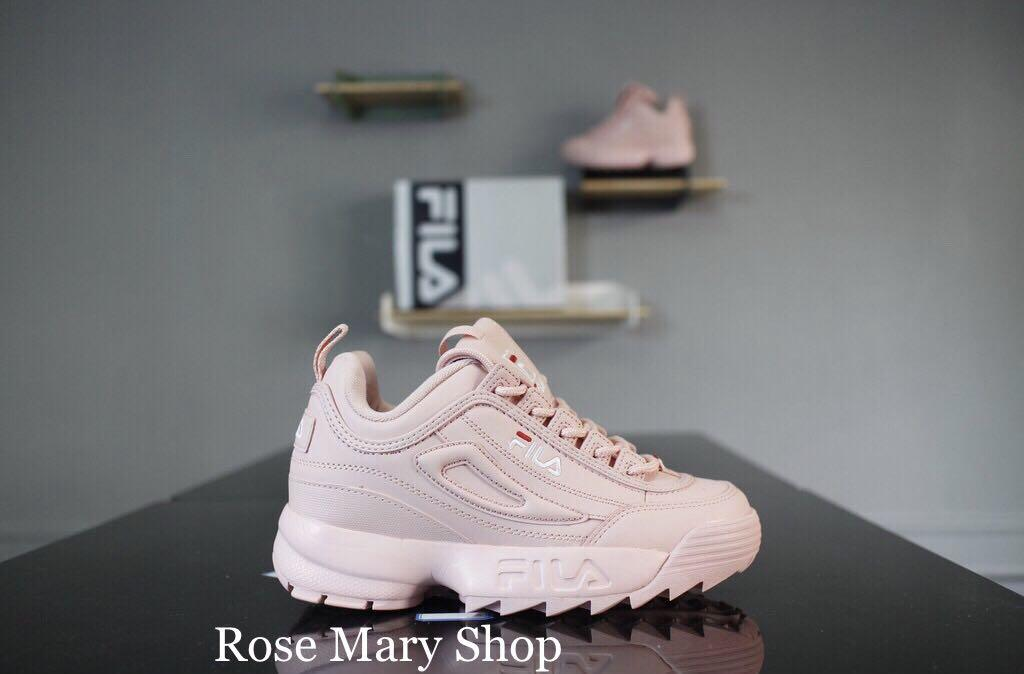 547af7a729 FILA Disrupts II 2 New Women Running Shoes Female Sports Shoes Non ...