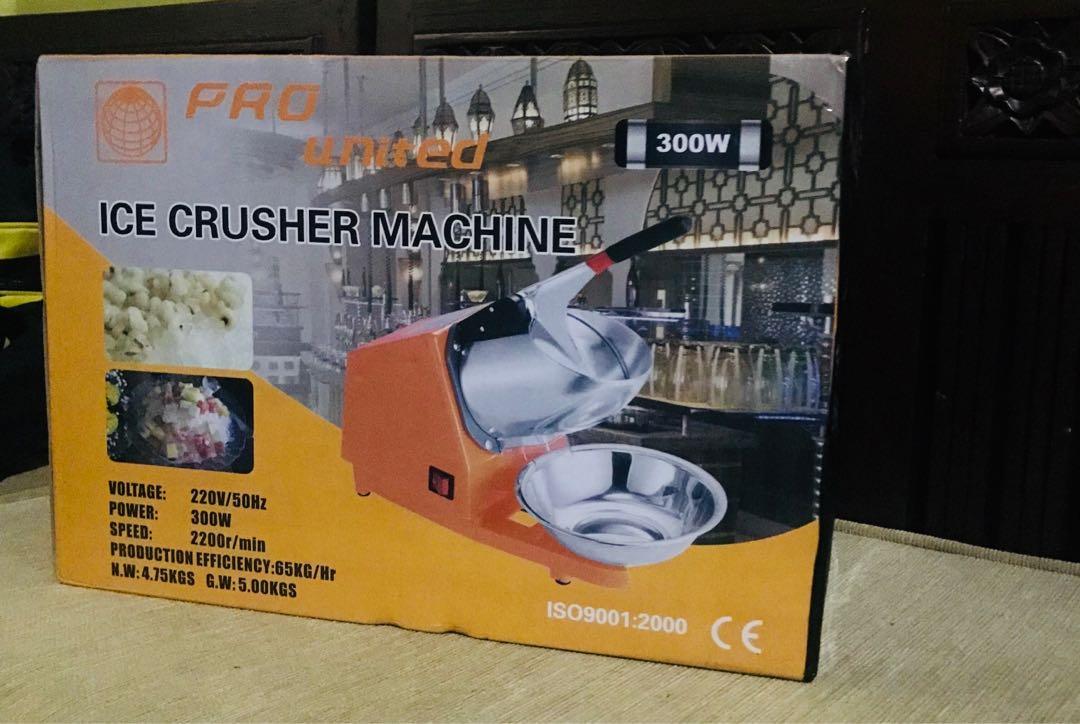 Ice Crusher Machine / Mesin Es Serut