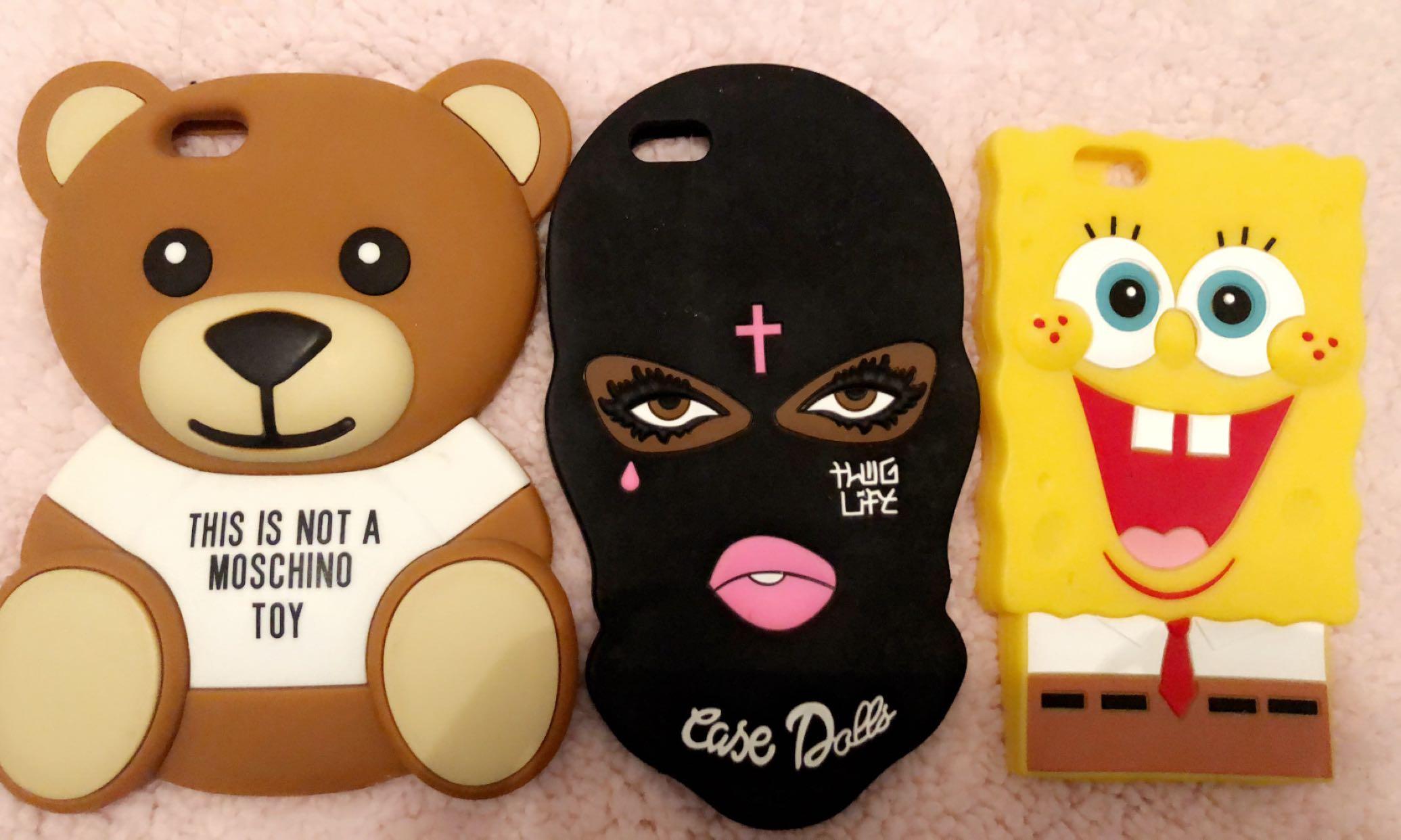 iPhone 6 Plus 3D cartoon rubber case
