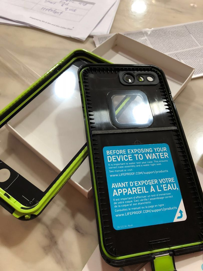 newest 6801e 390e3 iPhone 8/7 plus Lifeproof Fre