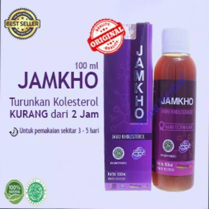 Jamkho jamu obat kolesterol original