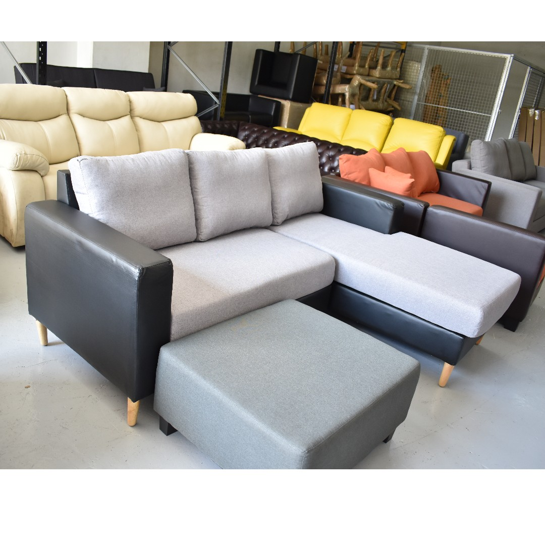 L Shape Sofa 1 8m New Furniture Sofas On Carousell