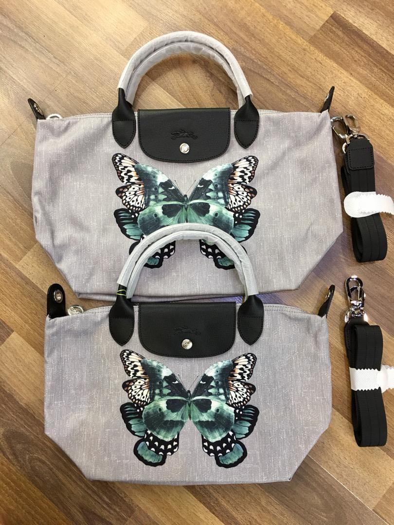 e5409b72484d Longchamp Le pliage Papillon butterfly