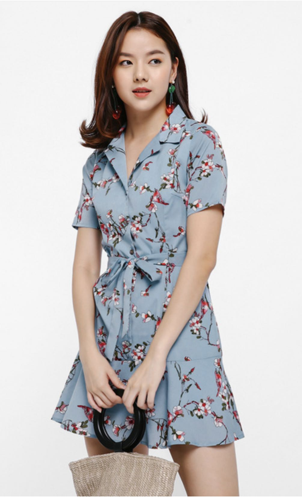 0f419d1777b Love Bonito BNWT Isavette Floral Shirt Dress in size S