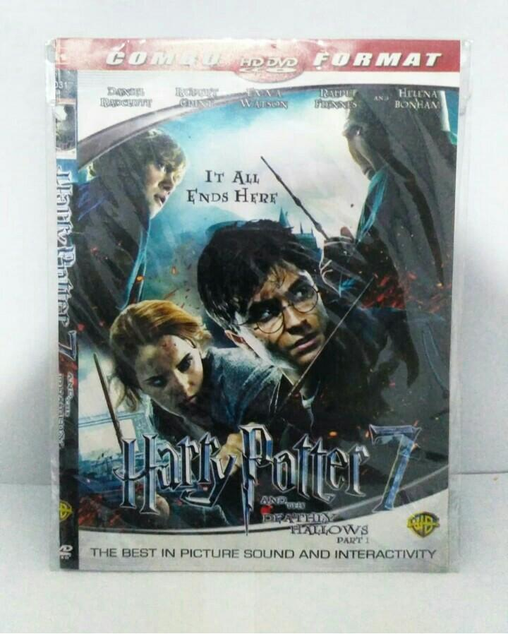 (NEW) DVD Harry Potter and The Deadly Hallows Part 1