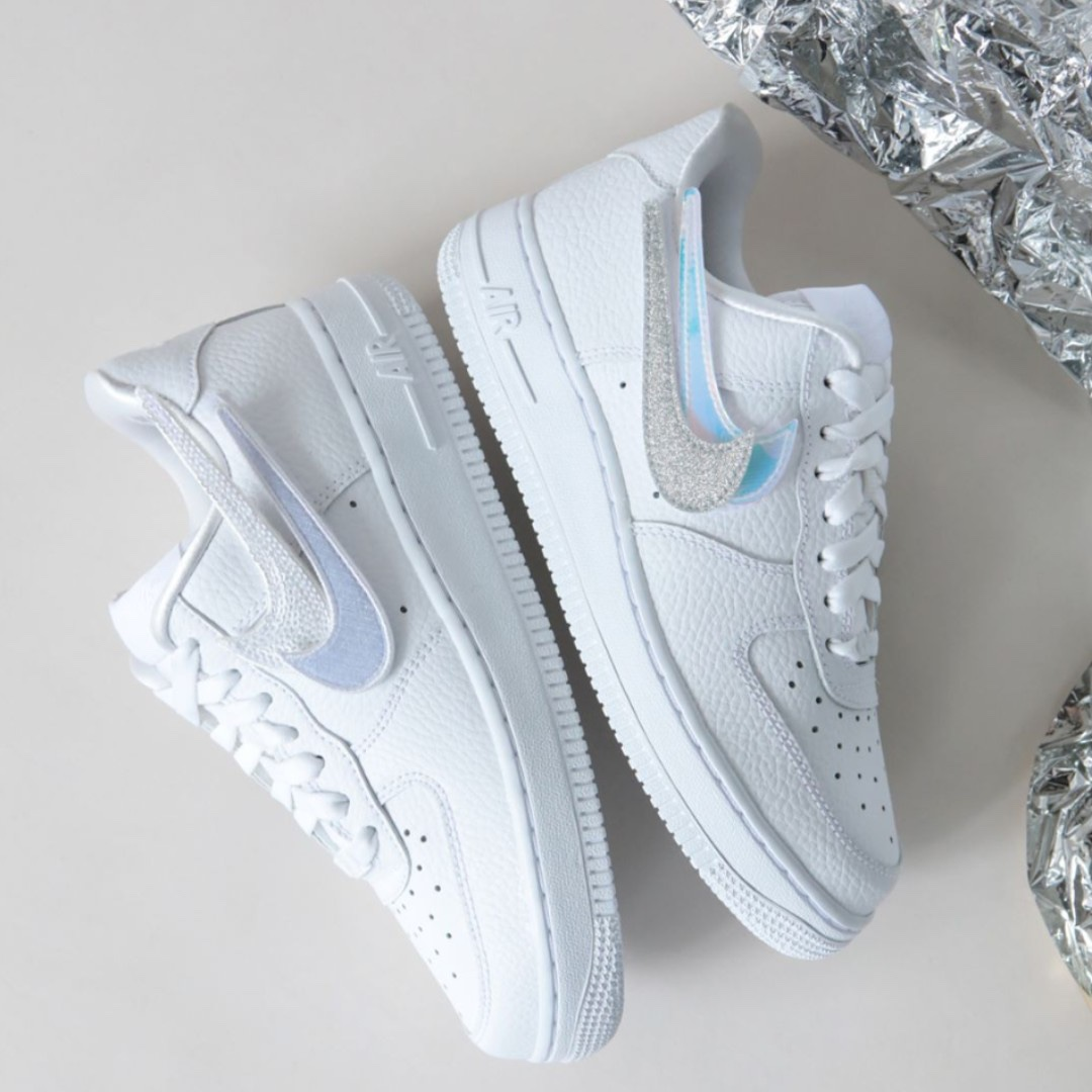 ef49d75237ed16 Nike Air Force 1 1-100 Removable Swoosh