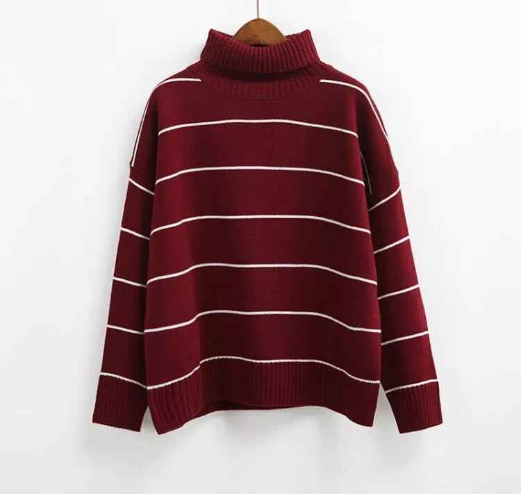 ba17f55443a8 PO) 2017 New Arrival Women Casual Pullovers Sweaters Knitted Sweater ...