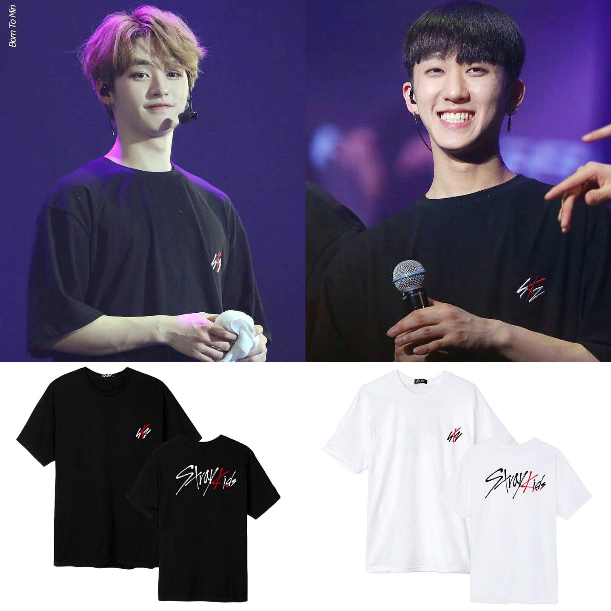 a1267985a STRAY KIDS DEBUT T-SHIRT, Entertainment, K-Wave on Carousell