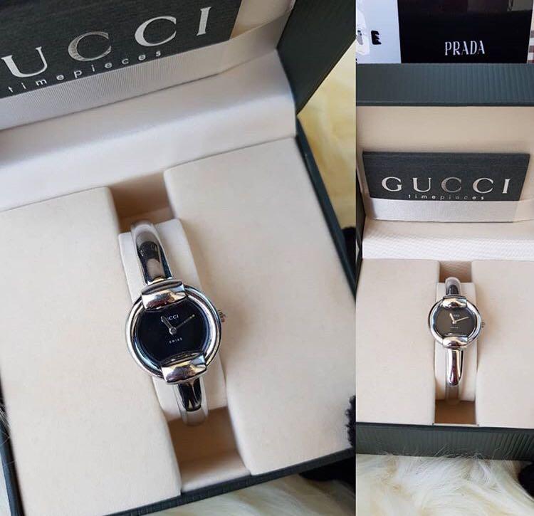 a5414d4c9dc Preloved Original Authentic Gucci Bangle watch