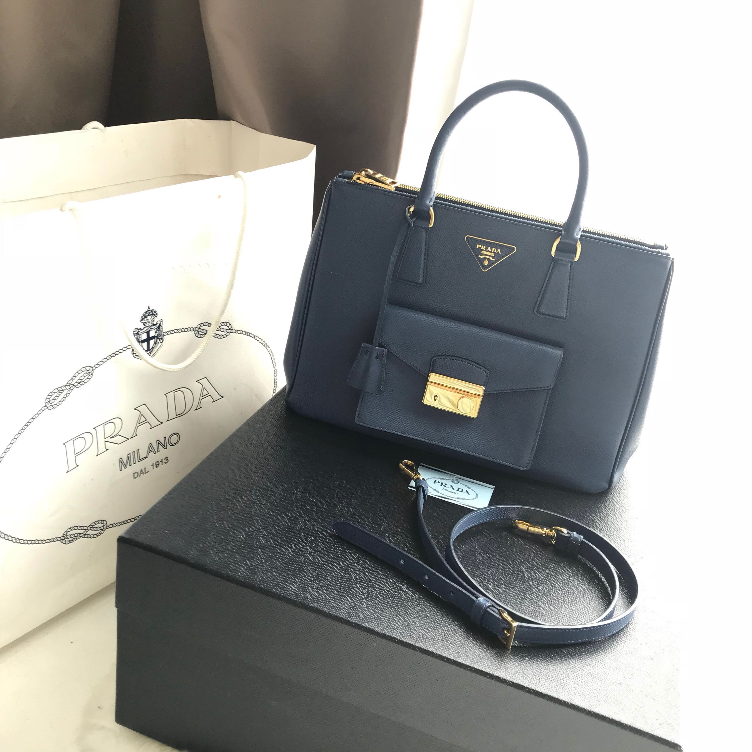 64c22a42a6af7d Priced to Clear!$550 Authentic Prada Saffiano Lux Bag BN2674, Luxury ...