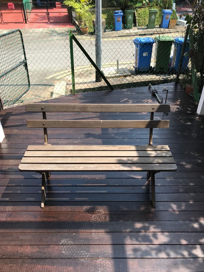 Priced To Go Vintage Wooden Bench