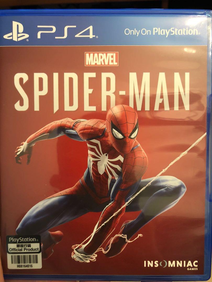 Ps4 marvel Spider man 蜘蛛俠