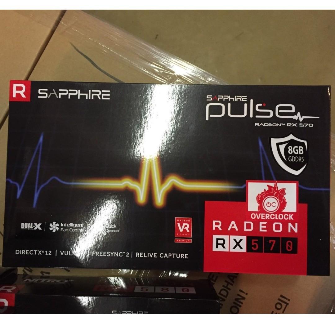 Sapphire Radeon PULSE RX 570 8GB GDDR5, Electronics