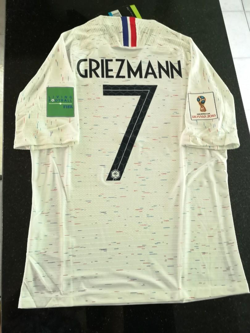 new styles 86bbd ee9c2 SIZE M - IN STOCK - Griezmann] France World Cup 2018 Away ...