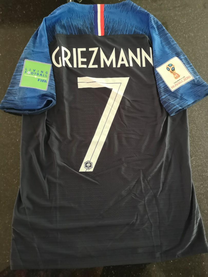 wholesale dealer 2eb95 42986 [SIZE S - IN STOCK - GRIEZMANN ] France World Cup Home Jersey - Player  Version