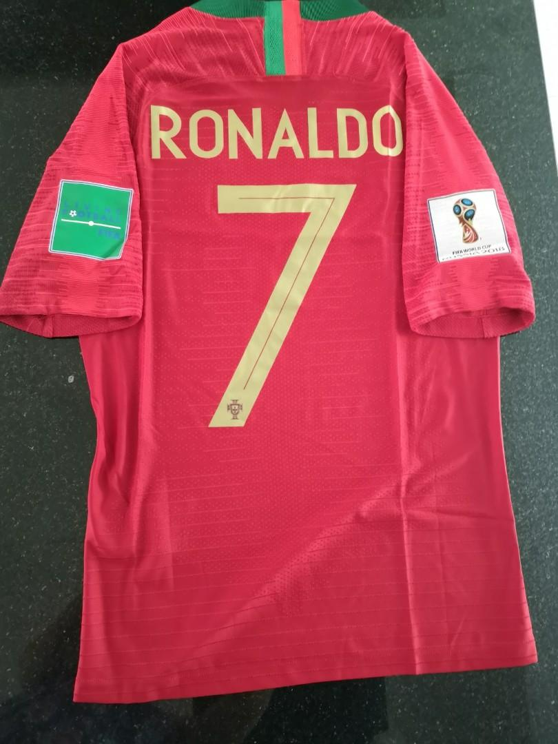 purchase cheap f5bb6 eb5b0 SIZE S - IN STOCK - RONALDO] Portugal World Cup 2018 Home ...