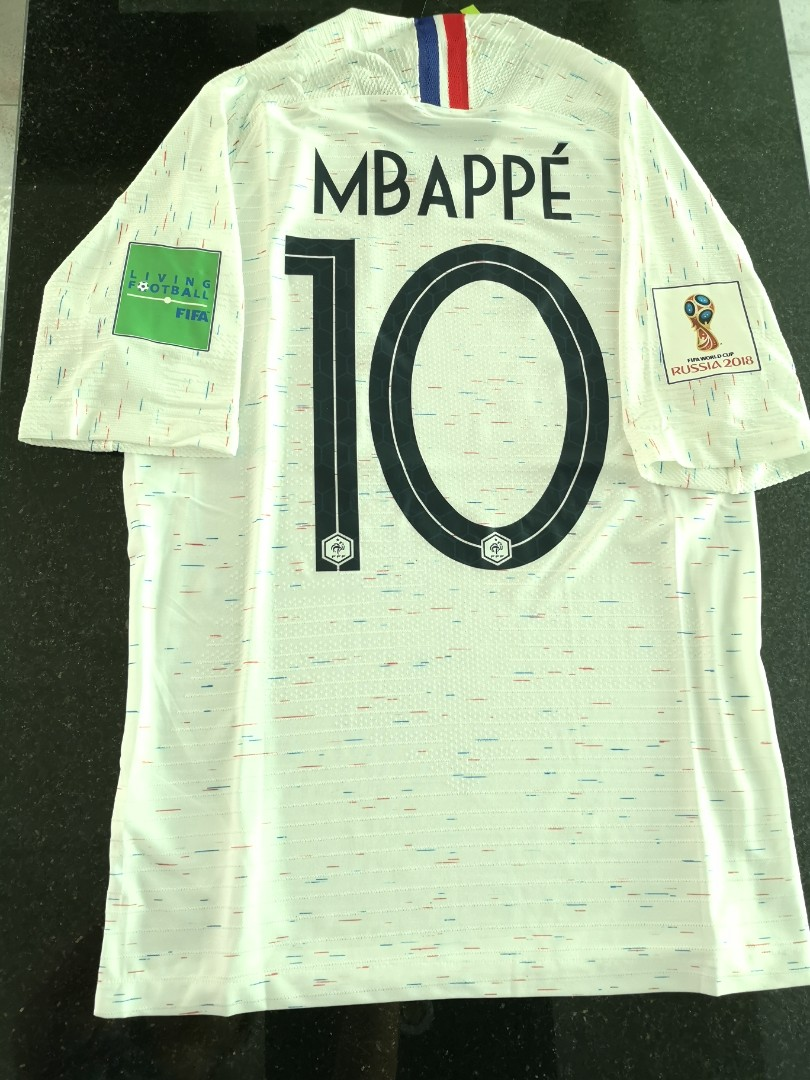 the latest c75ab f1894 [Size S, M & L - IN STOCK - MBAPPE] France World Cup 2018 Away Jersey -  RARE PLAYER VERSION
