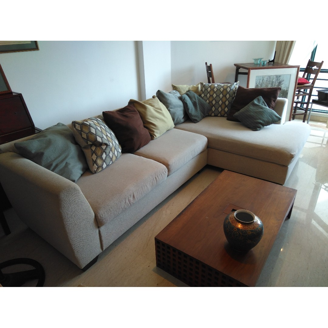 Sofa With Cushions Furniture Sofas On Carousell