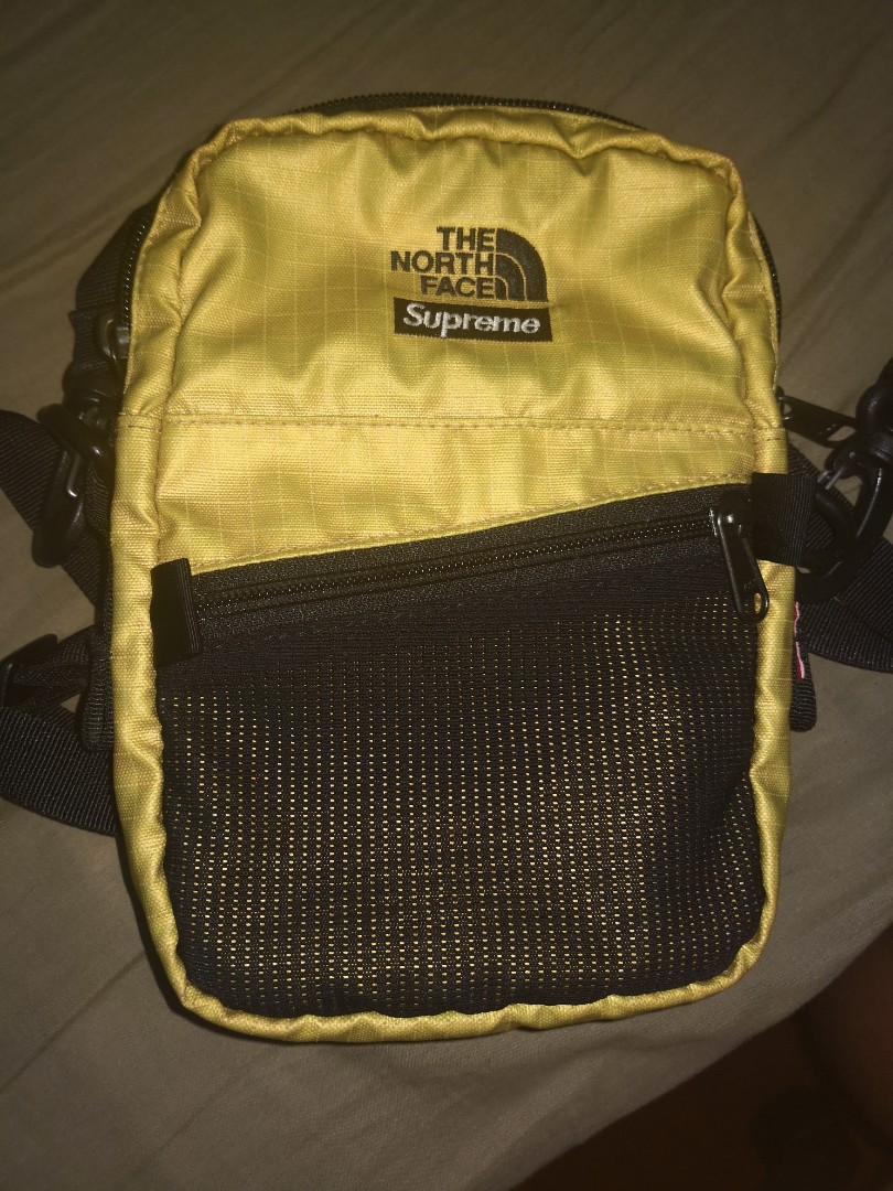 ec84f402 Supreme The North Face TNF Shoulder Bag Gold, Men's Fashion, Bags ...