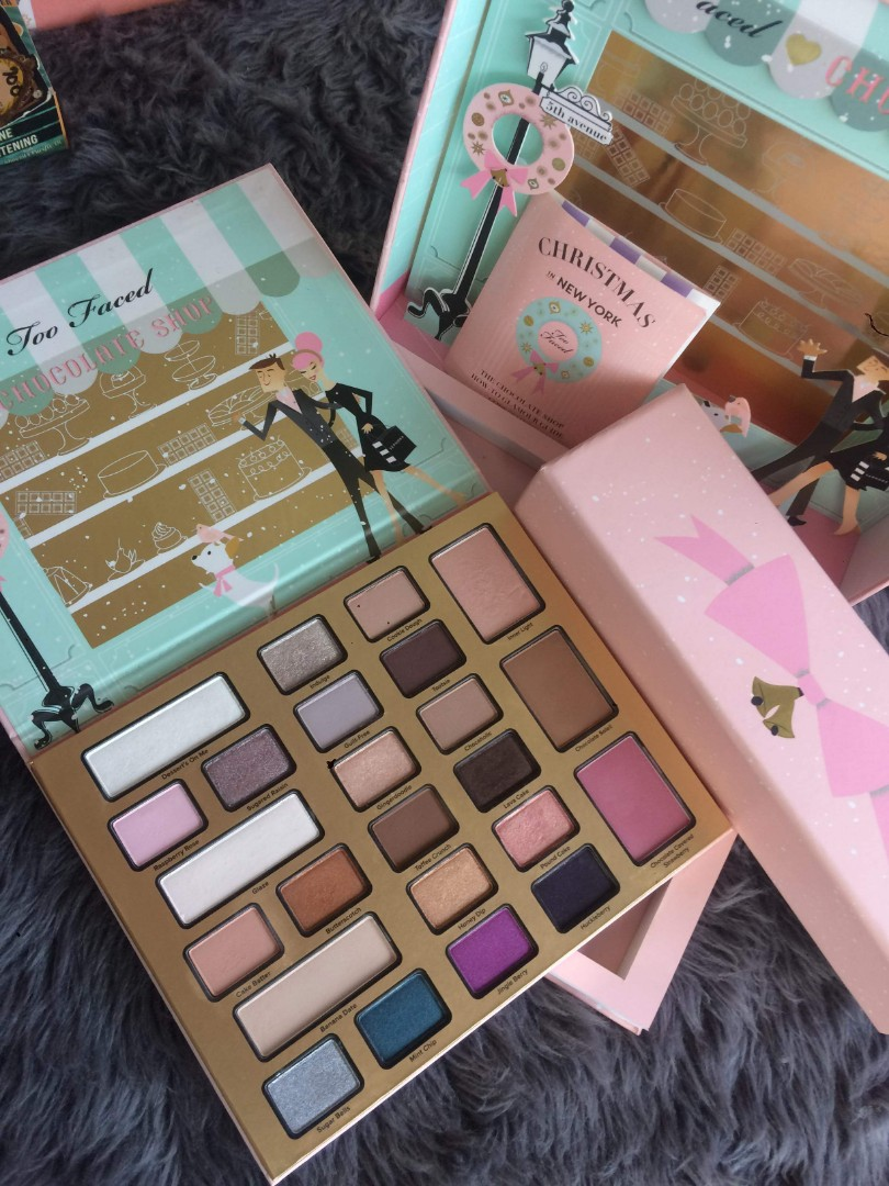 Too Faced Limited Ed Christmas In New York Palette Health Beauty