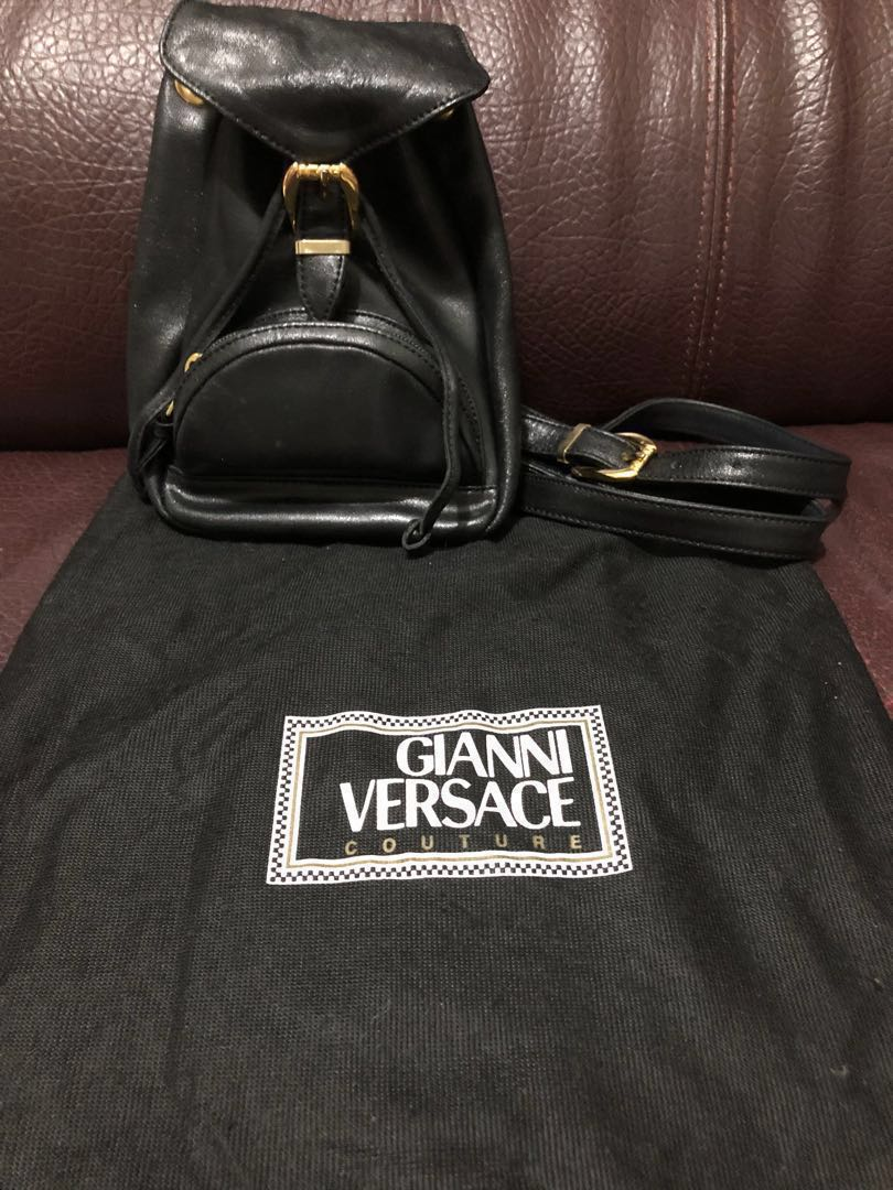 dc88045e4a Versace vintage backpack