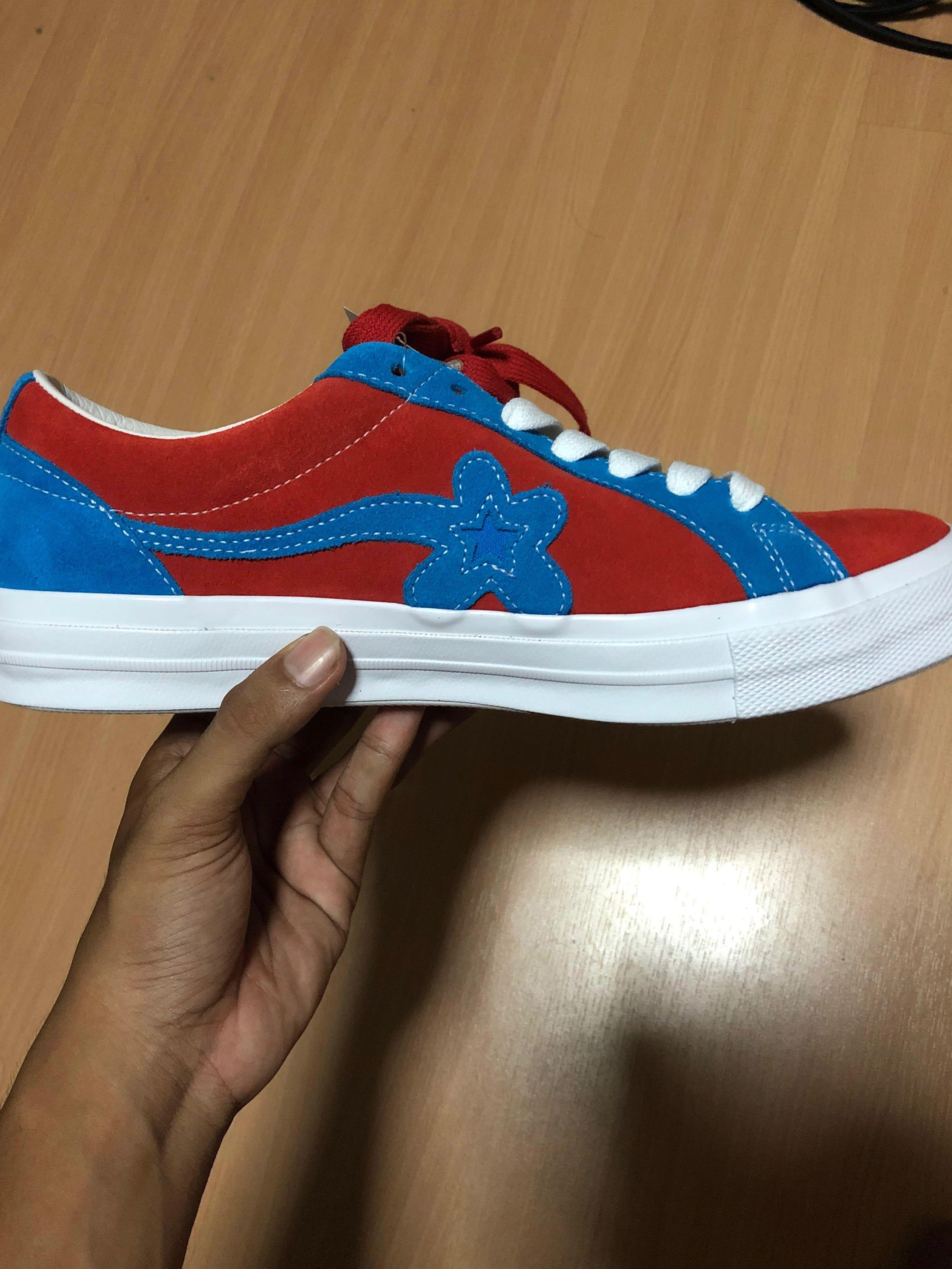 Wtt Converse Golf Le Fleur Red Blue Men S Fashion Footwear