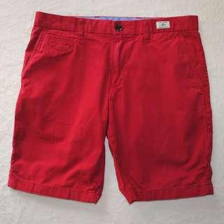 Tommy Hilfiger Classic Red Chino Shorts