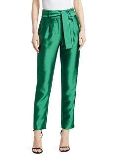 Maje High waisted green pants
