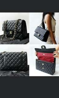 Preorder Chanel Jumbo caviar/lambskin gold hardware handbag *waiting time 2 to 3 days after payment is made *pm to order