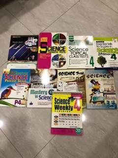 P3/P4 Sci Assessment Book, each $5/-